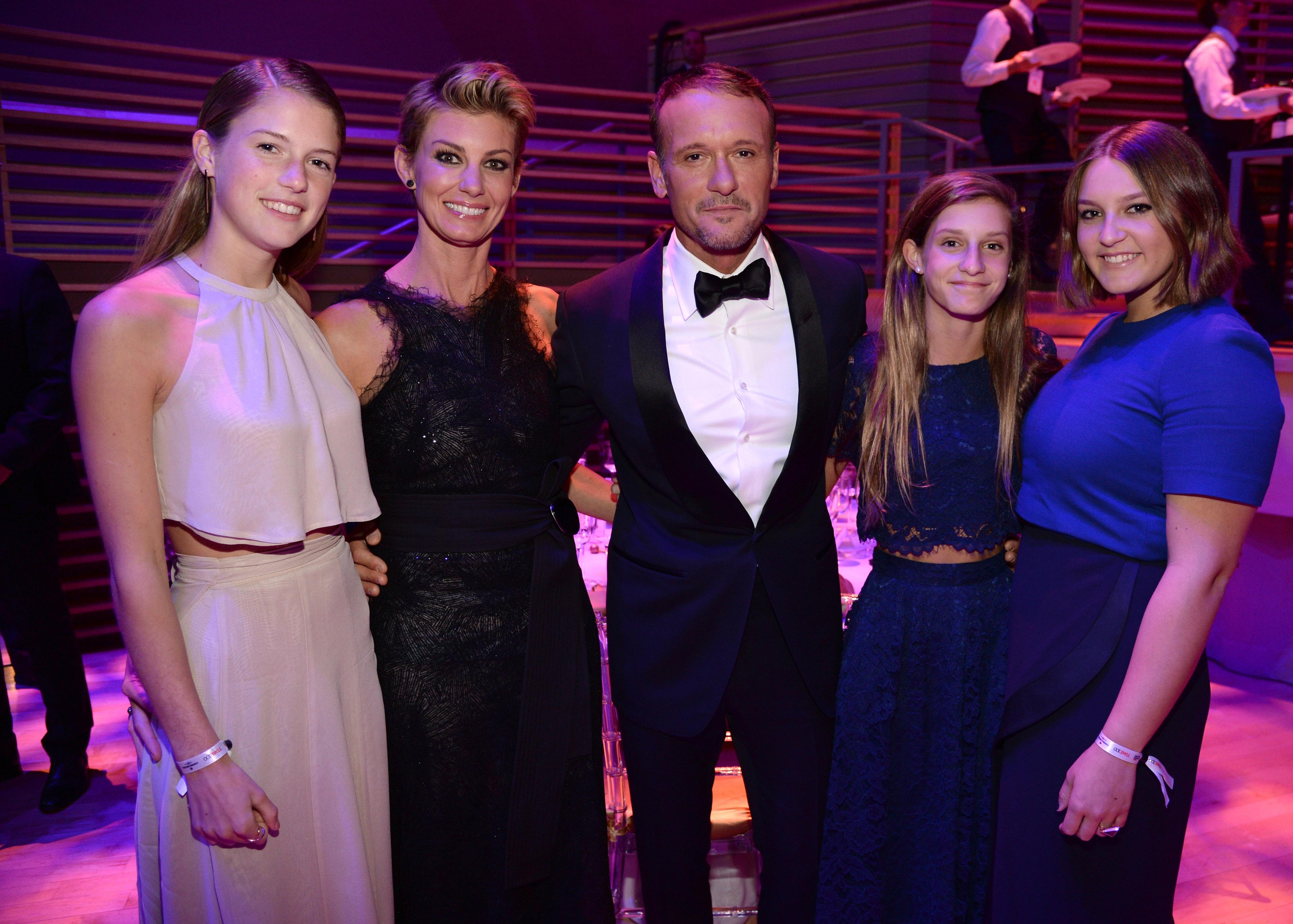 Tim McGraw Family Getty