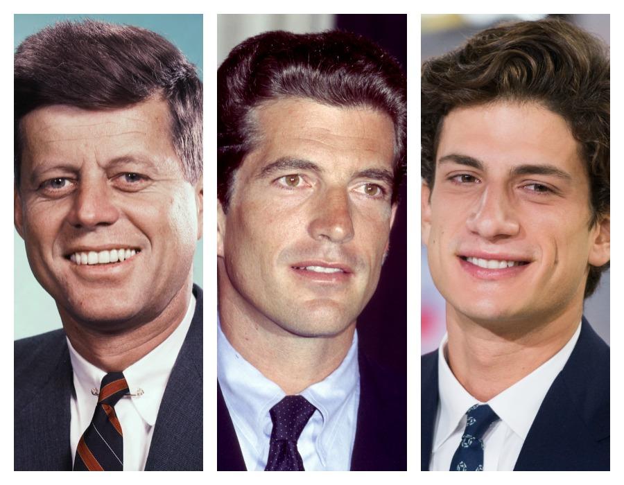 JFK JFK Jr Jack Schlossberg Comparison
