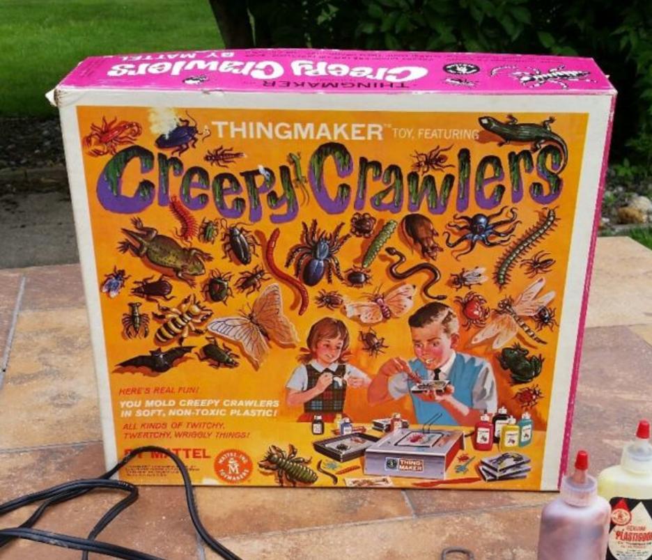 creepy crawlers thingmaker