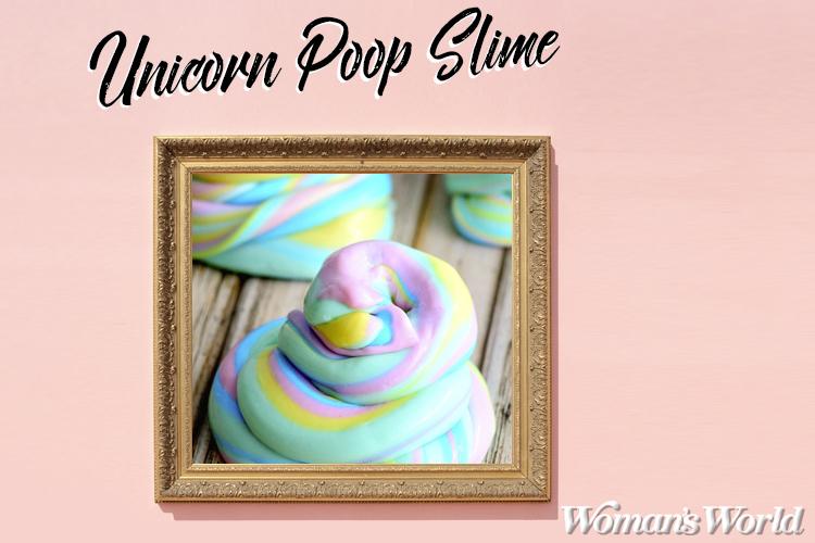 Unicorn Poop Slime