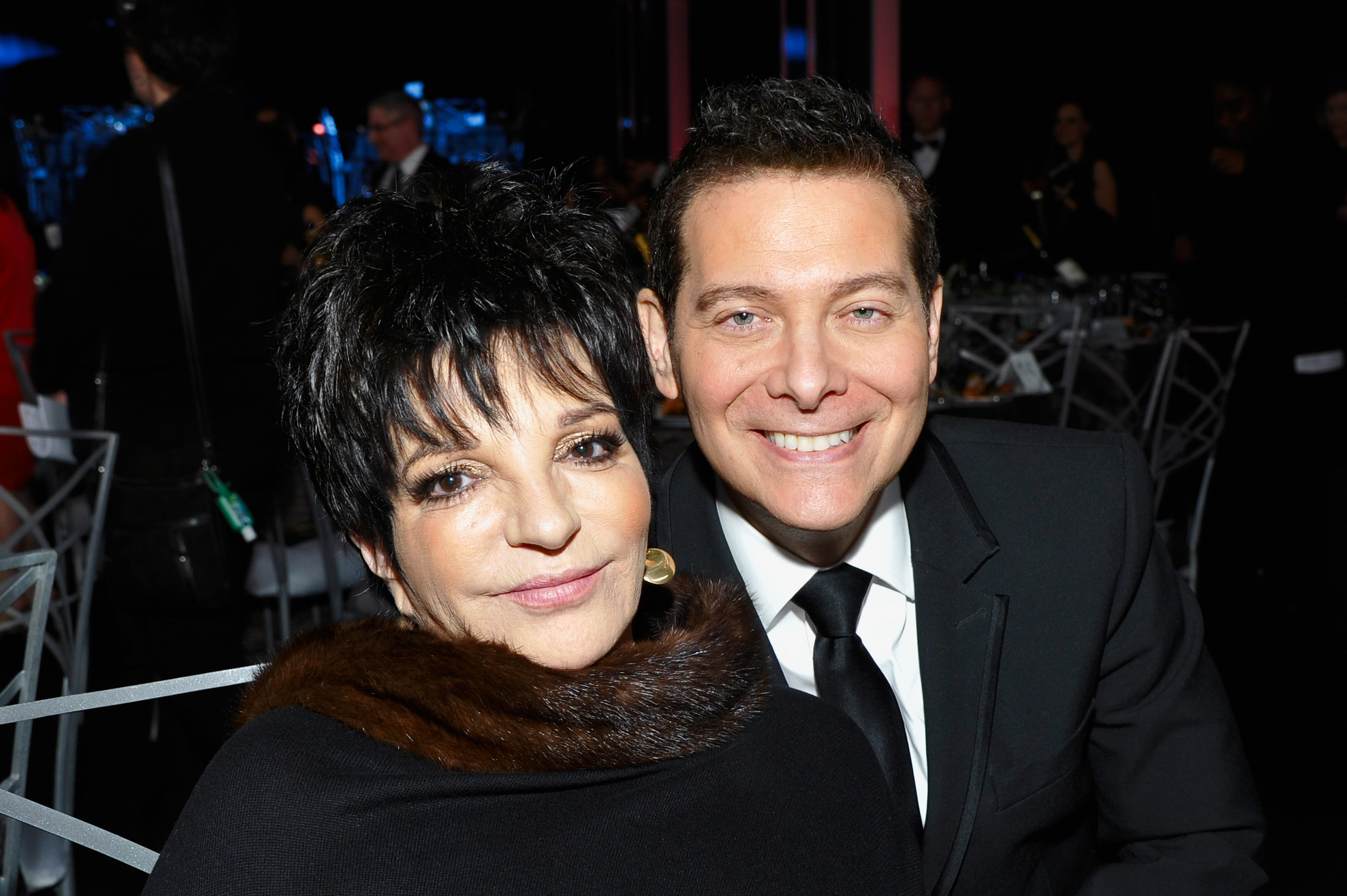 Liza Minnelli and Michael Feinstein