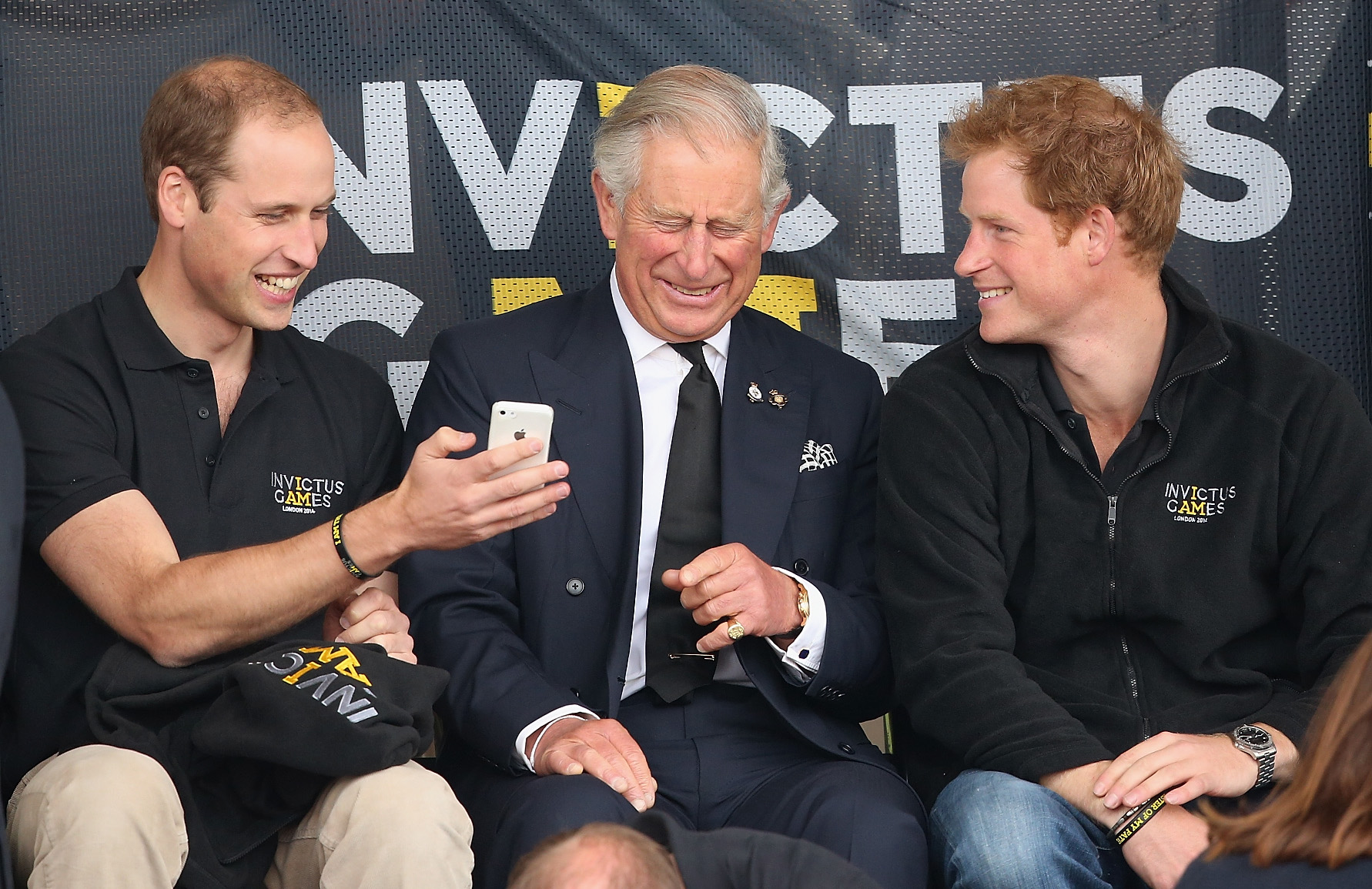 Prince Charles Prince William Prince Harry Getty Images