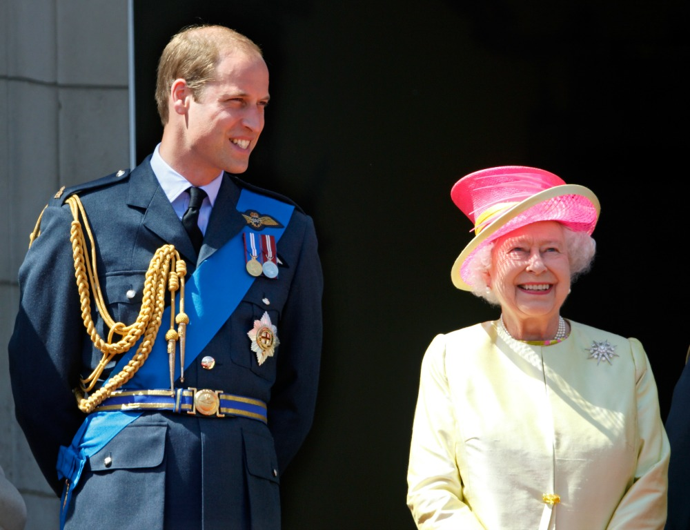 Prince William Queen Elizabeth Getty