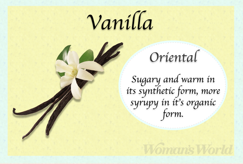 vanilla perfume note