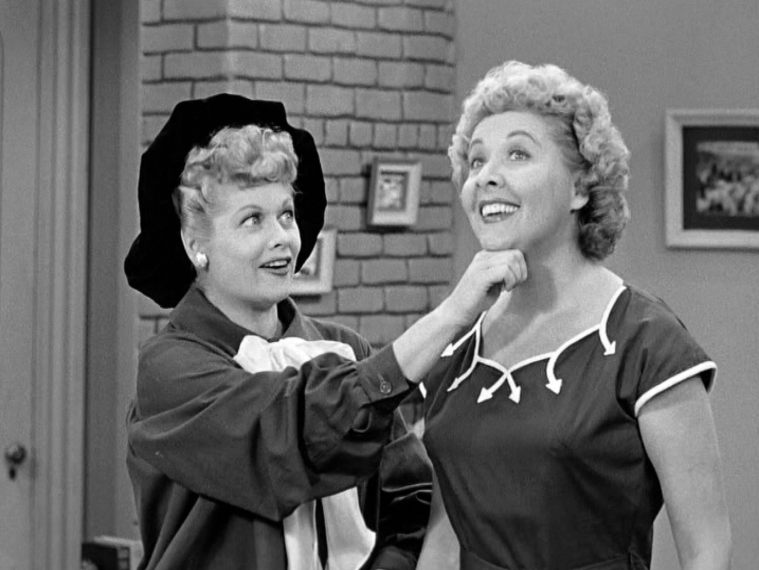 Lucille Ball Vivian Vance Getty