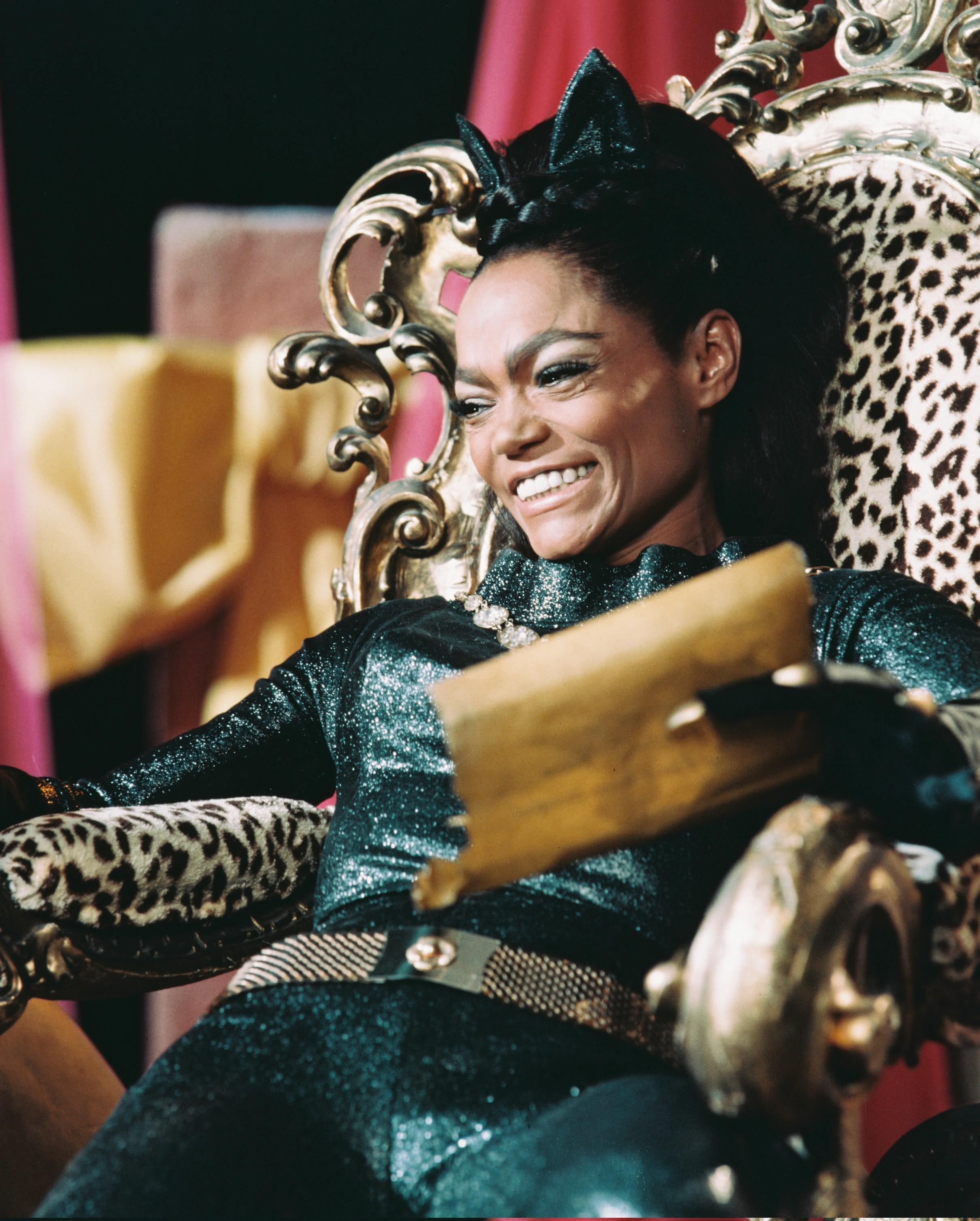 Eartha Kitt in Batman Getty images