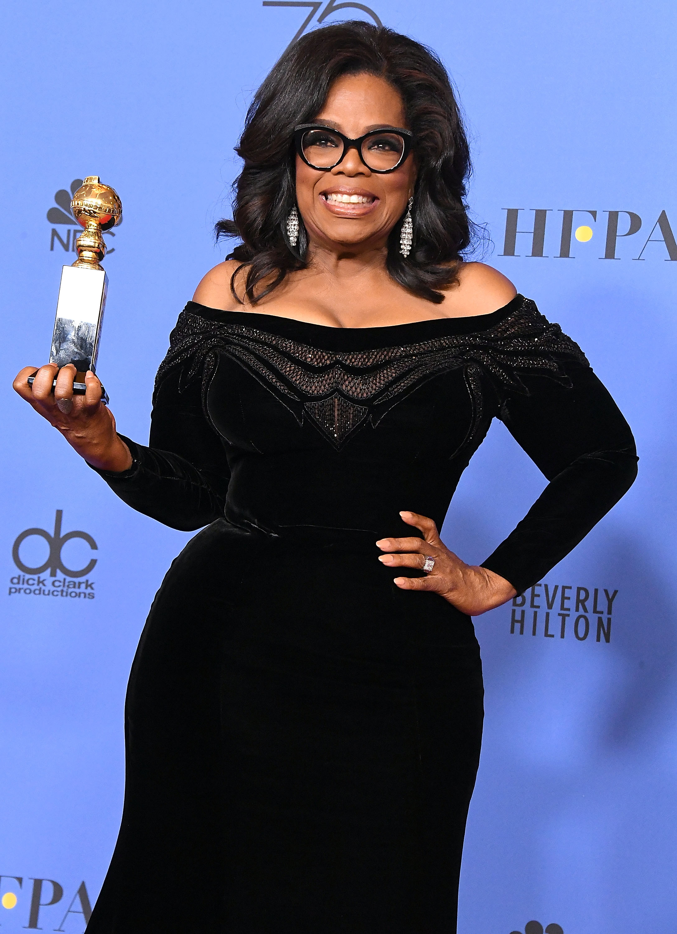 Oprah Wins Award Getty Images