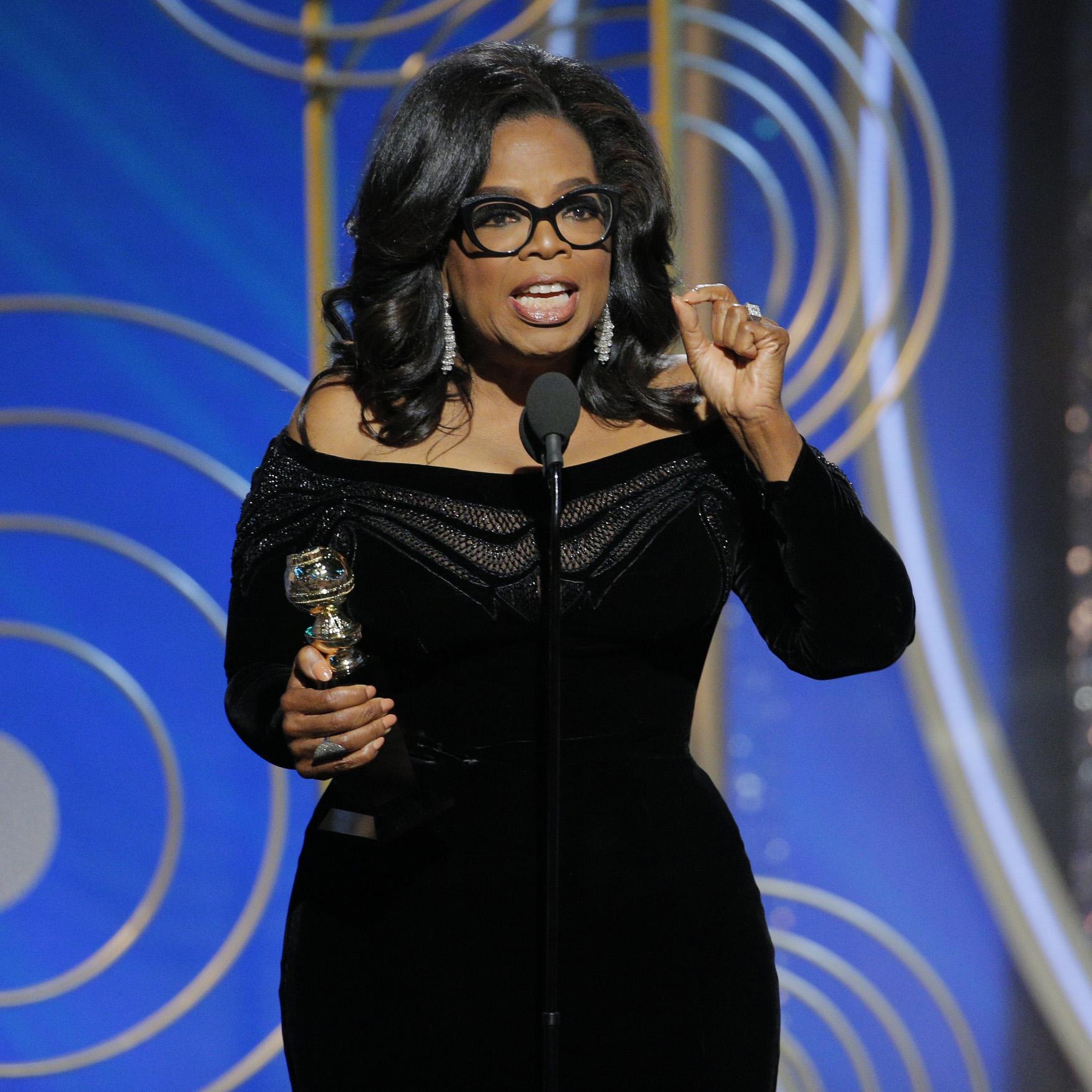 Oprah Winfrey Golden Globes Getty Images