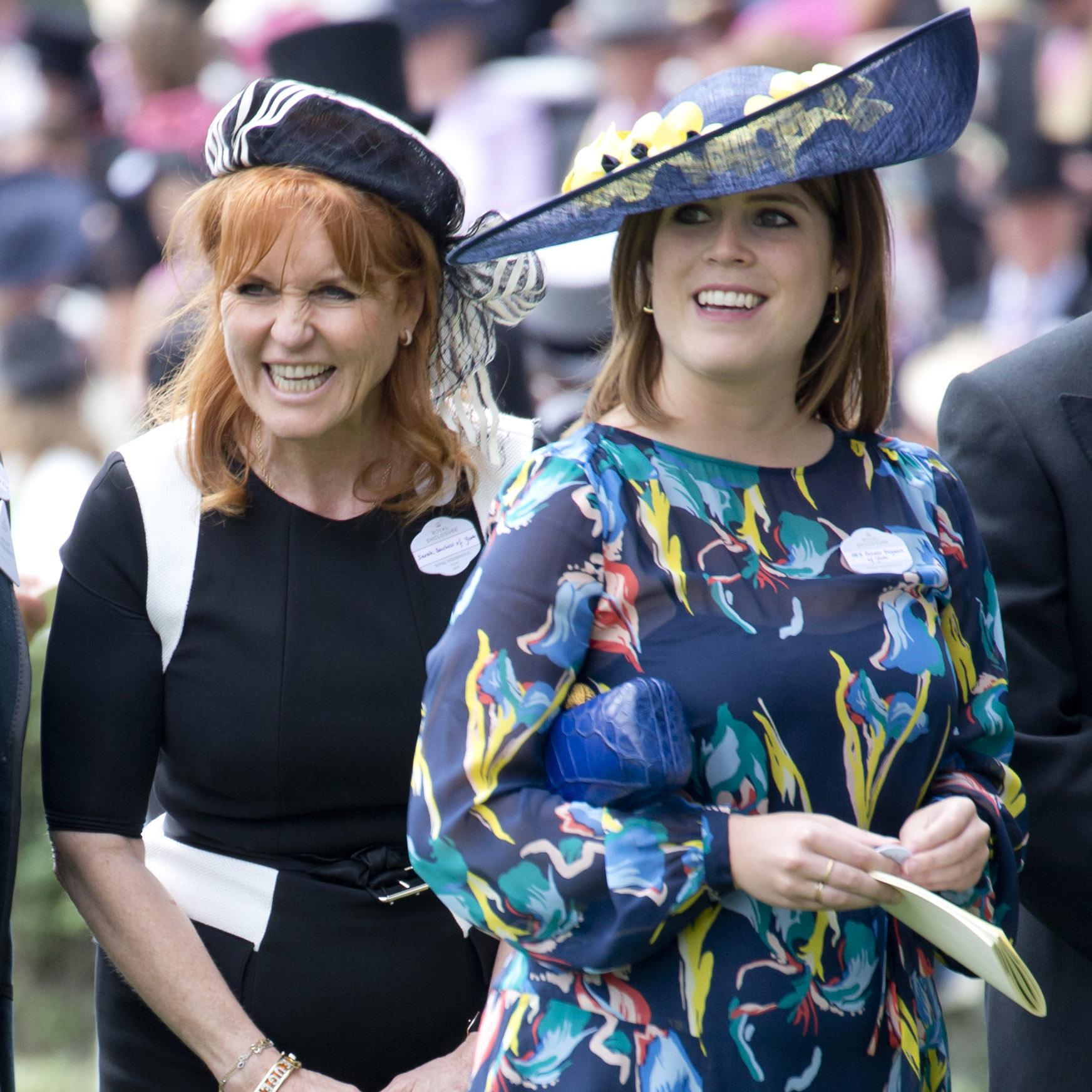 Princess Eugenie Sarah Ferguson Getty Images