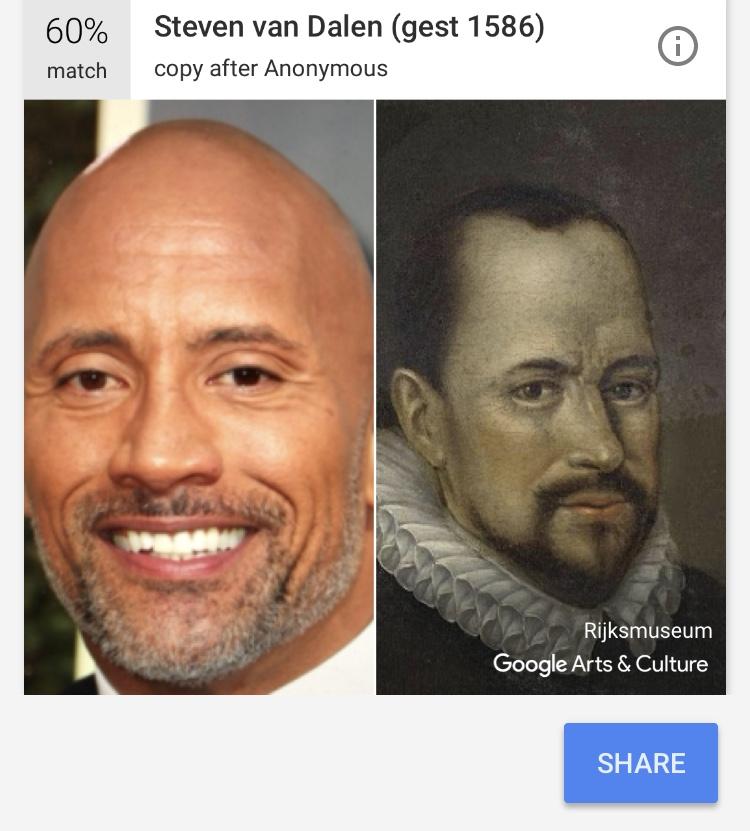 the rock doppelganger