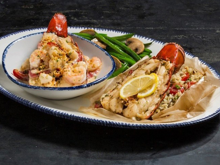 dueling lobster tails