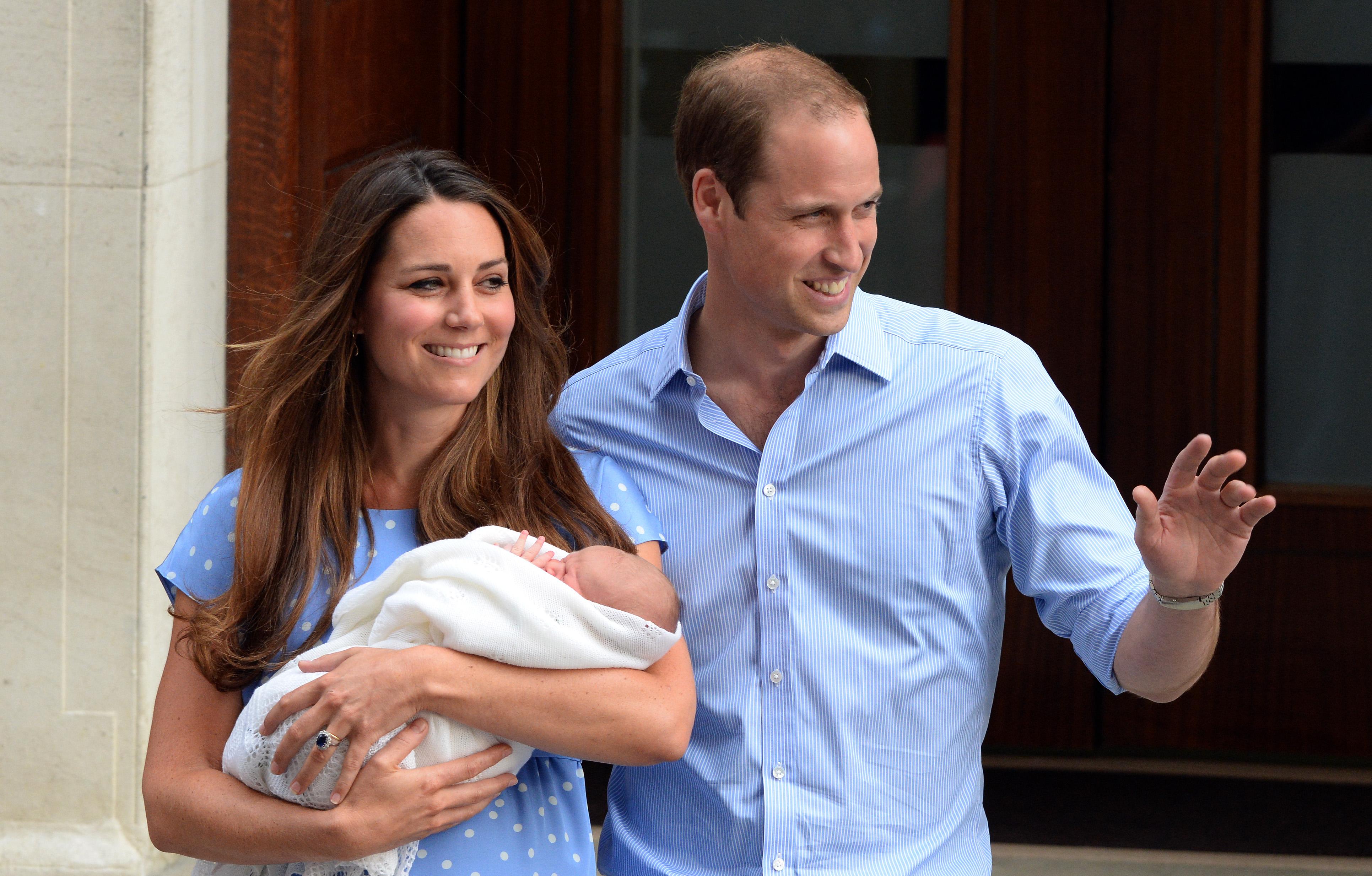 prince george birth