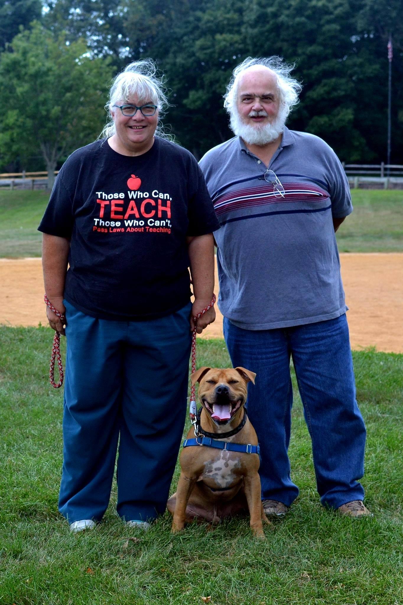 tenaglias and pit bull