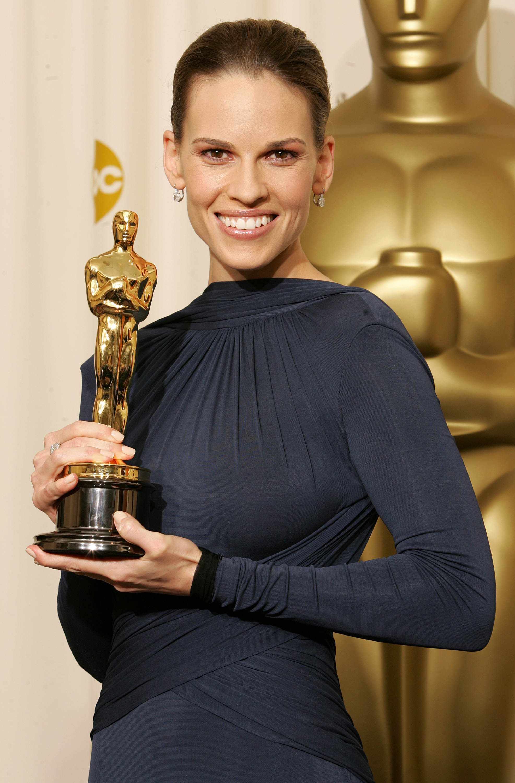 Hilary Swank Oscar Getty Images