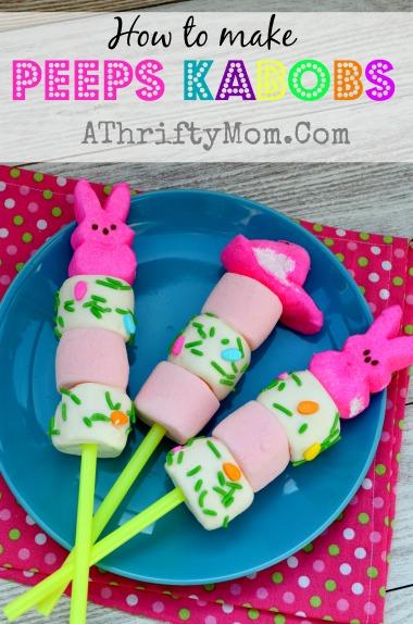 Peeps Easter Kabobs