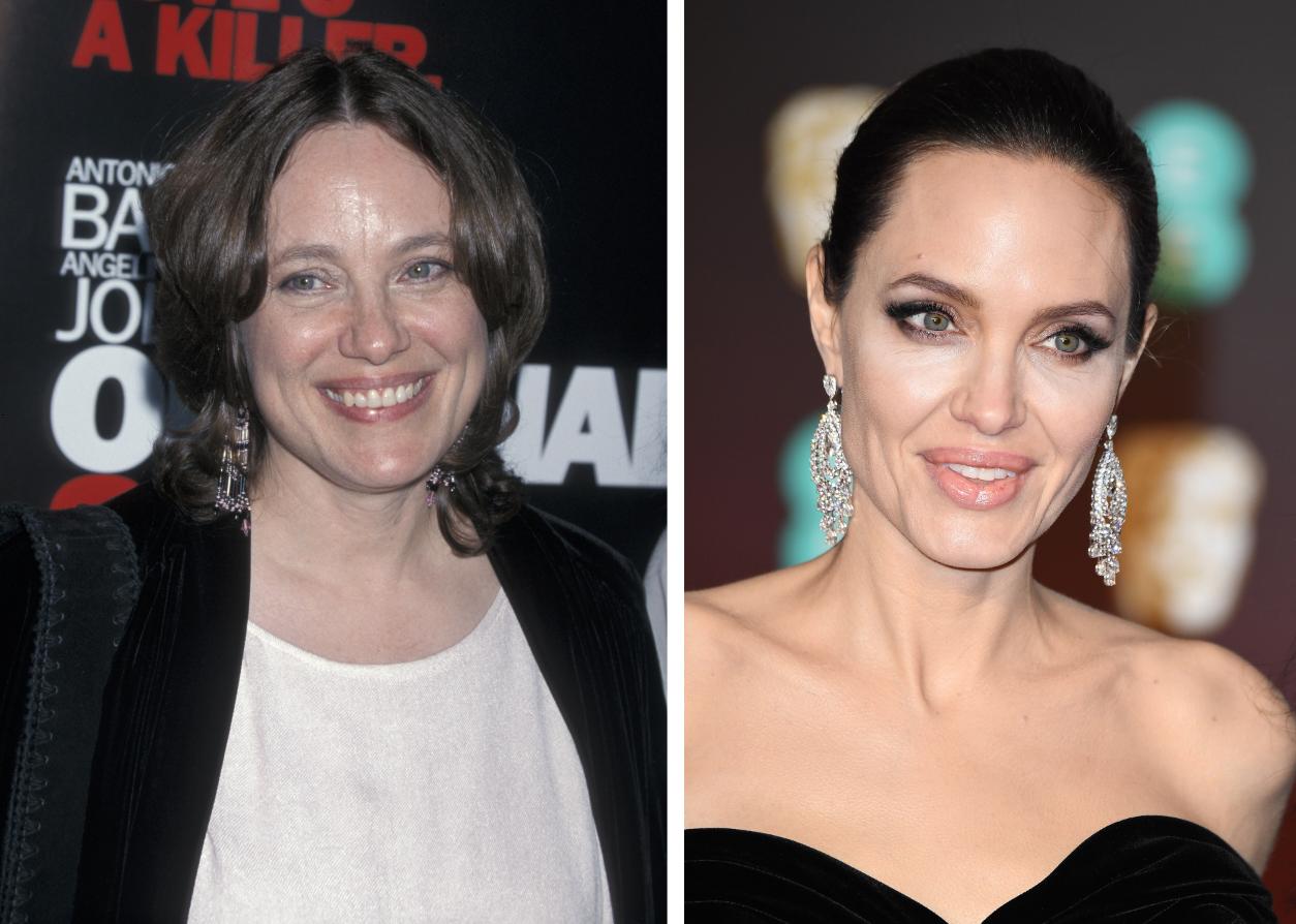 Angelina Jolie Marcheline Bertrand split Getty