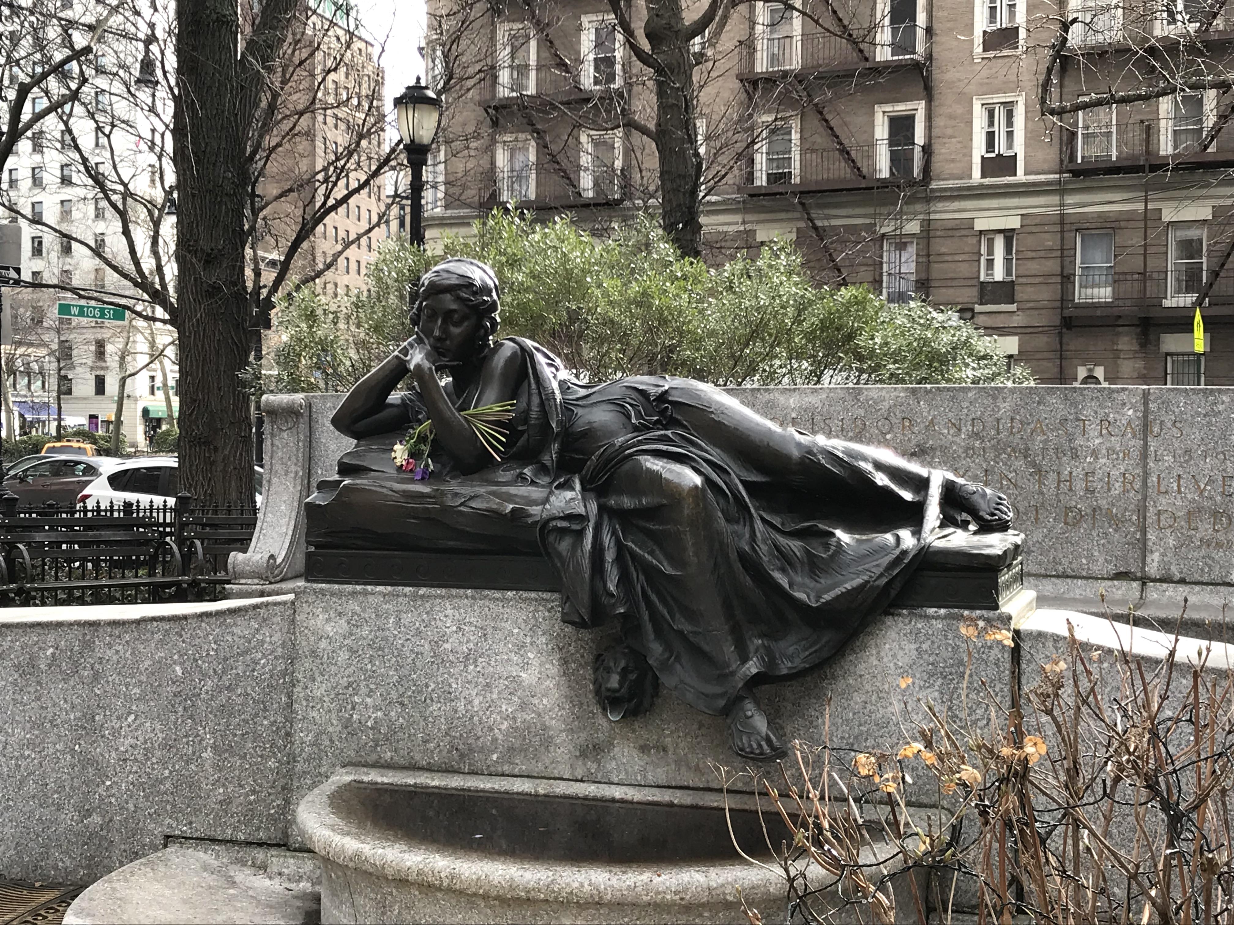 straus park memorial
