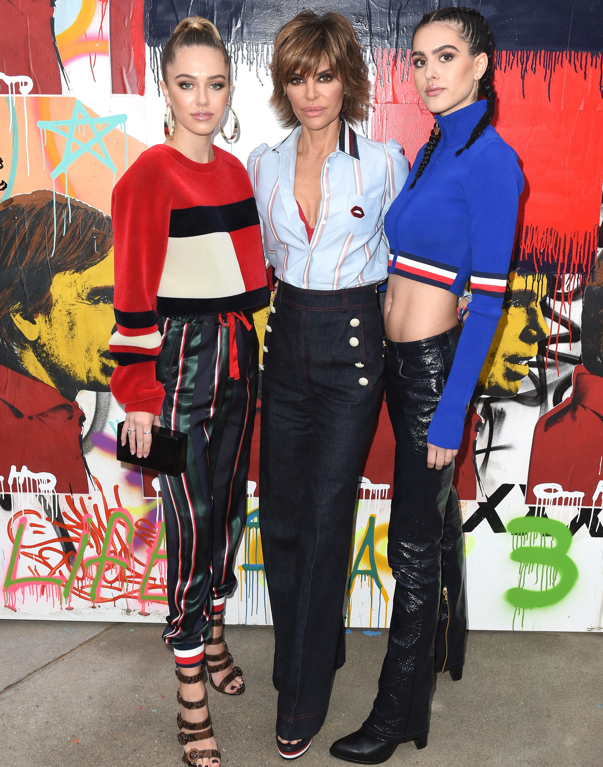 Lisa Rinna Daughters Getty Images
