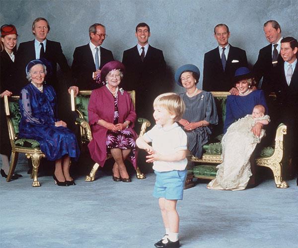 Prince Harry Christening NTL