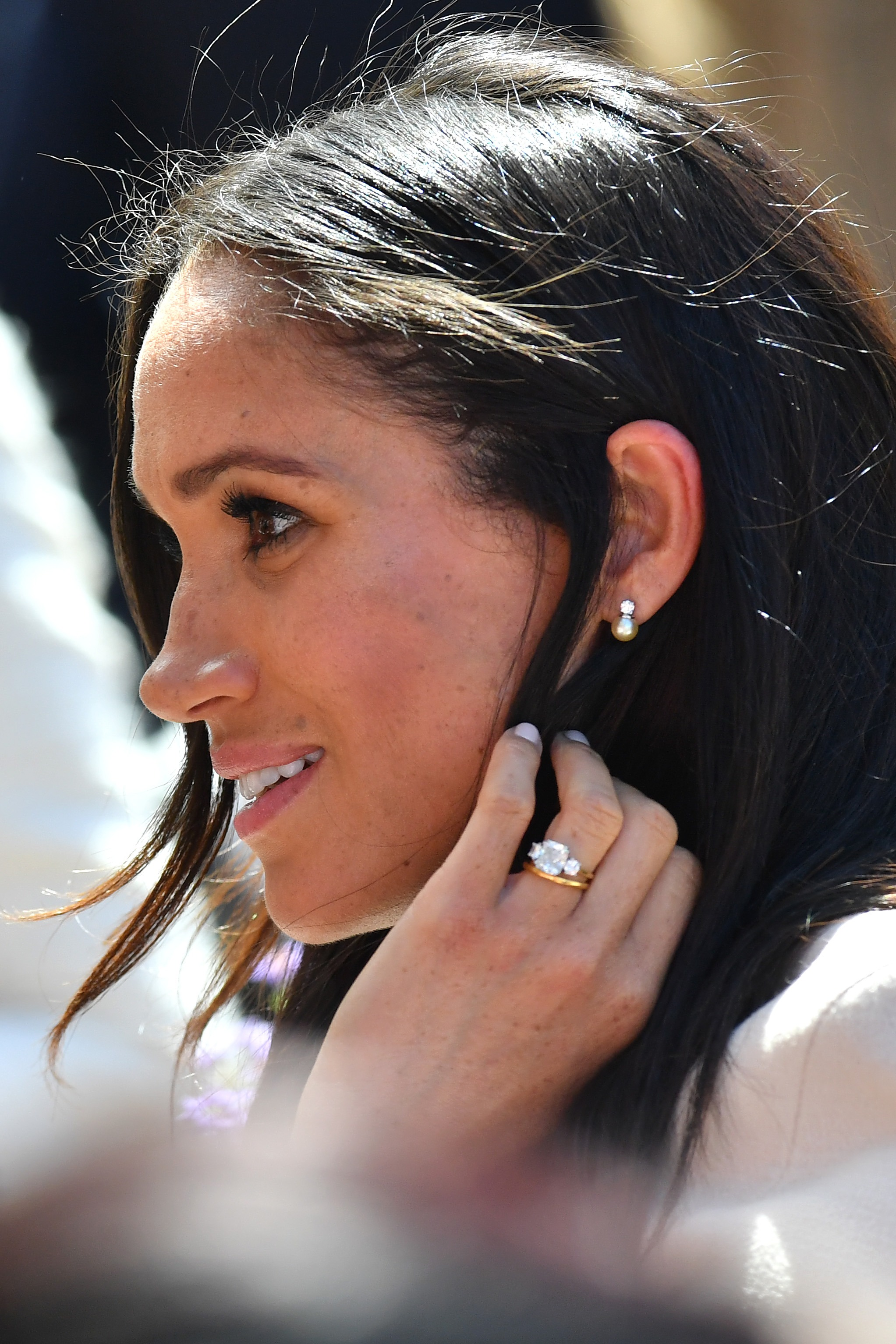 Meghan Markle Earrings Getty