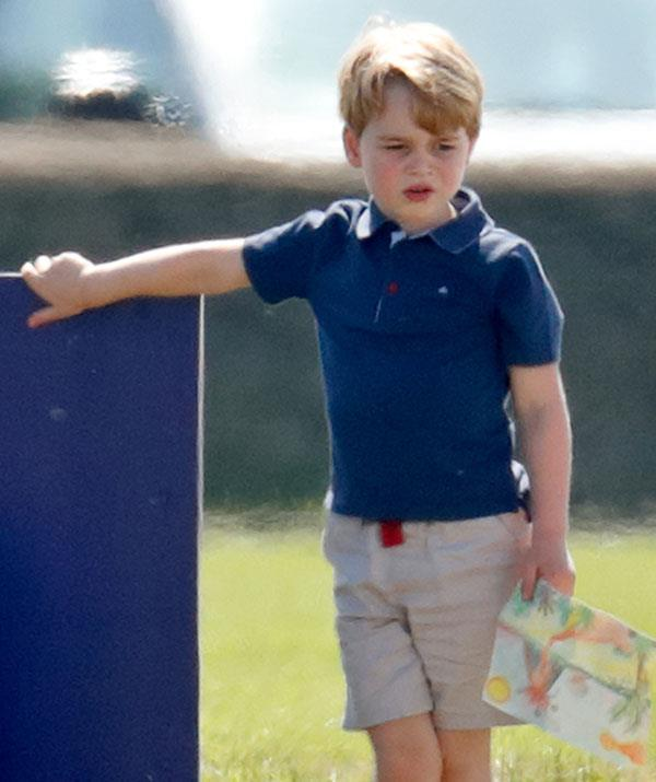 Prince George Drawing Now to Love