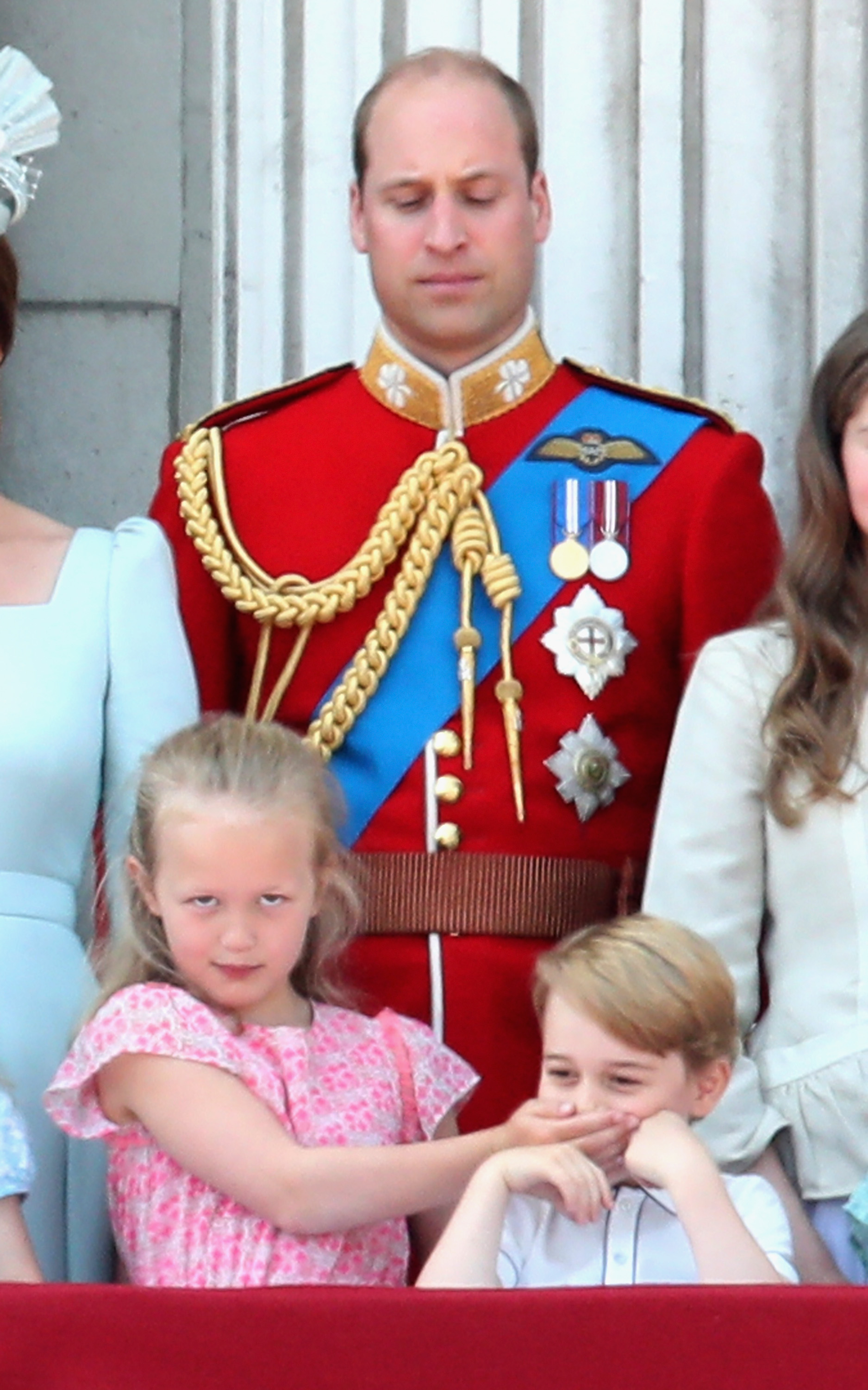 Savannah Philips Prince George Trooping the Colour Getty Images