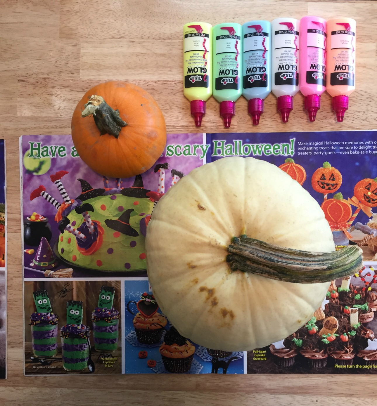 Glow In the Dark Pumpkins 1