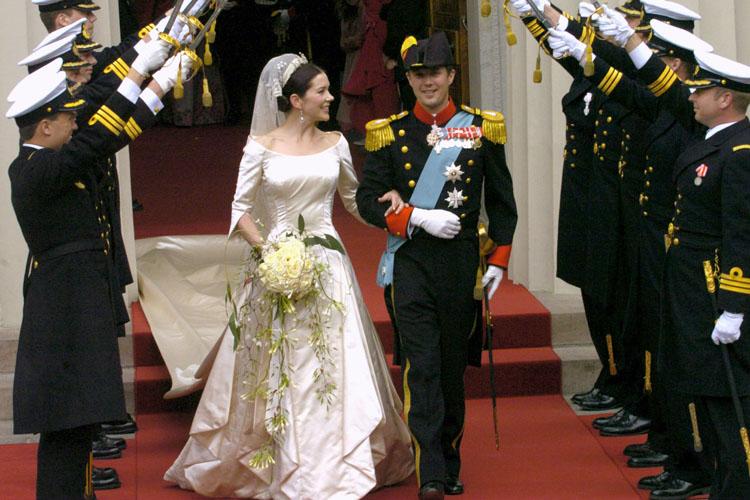 Mary Donaldson Wedding Dress