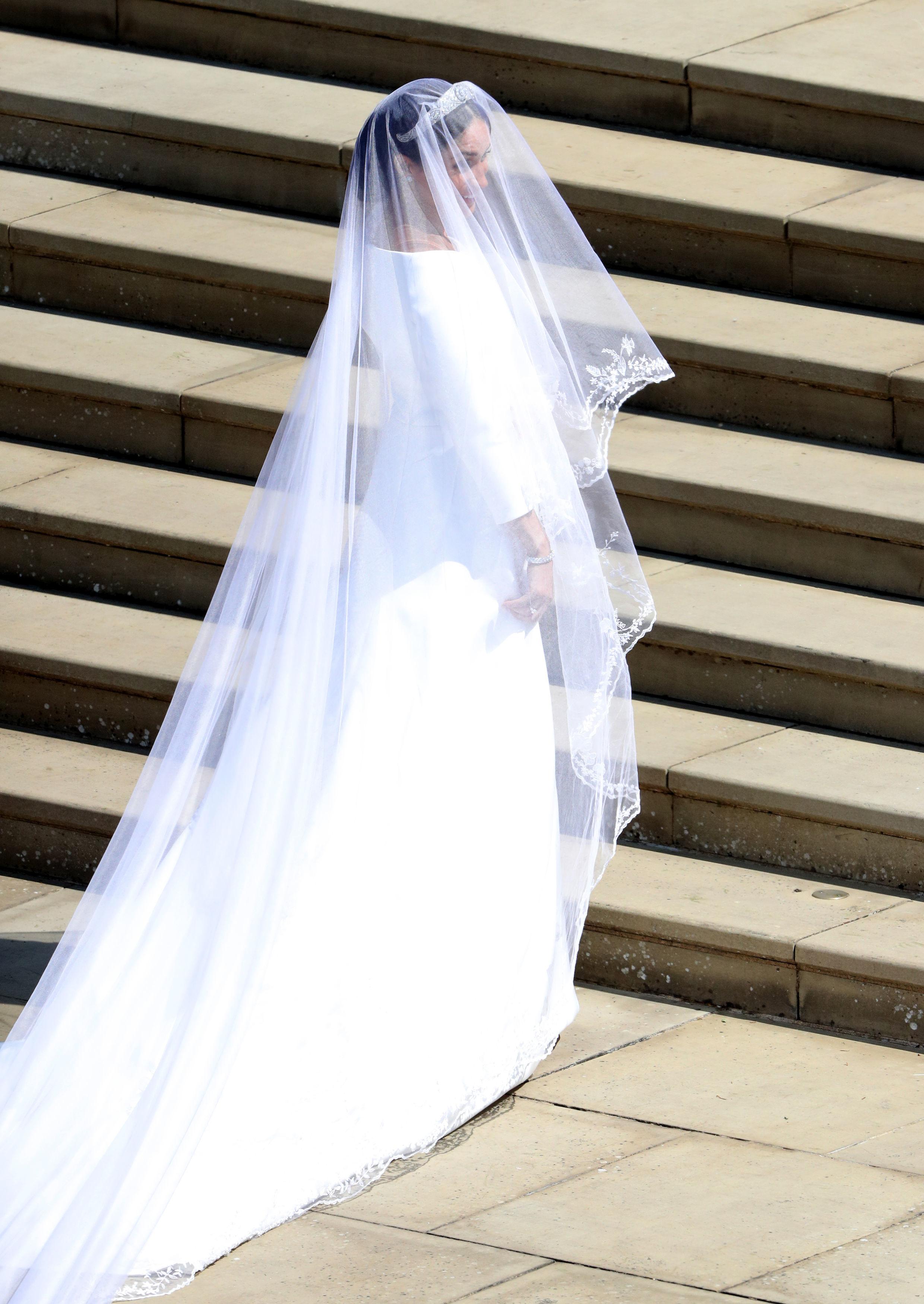 Meghan Markle Wedding Dress Getty Images