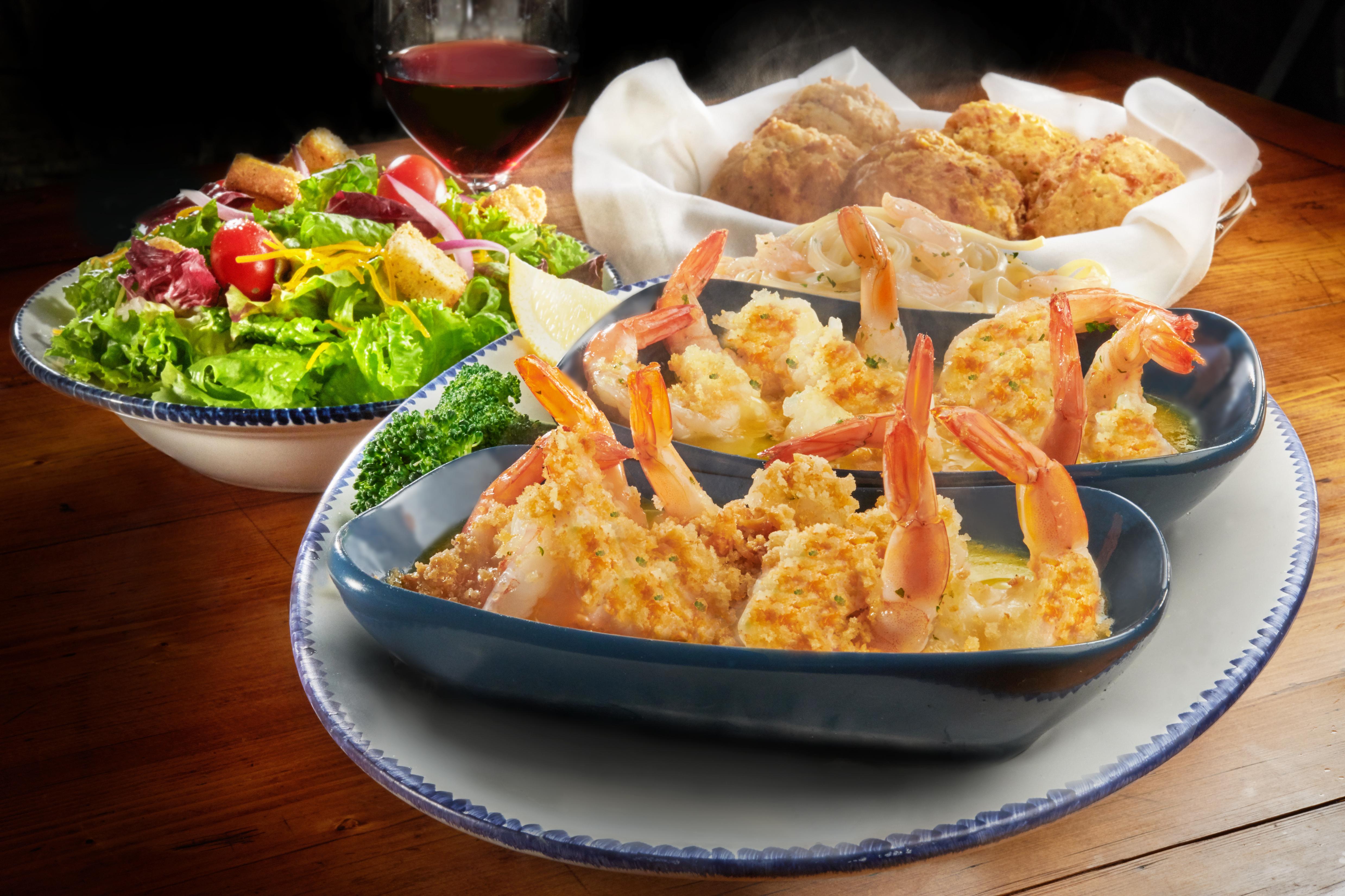 Red Lobster Endless Shrimp 2018 Secret Menu Parmesan Shrimp Scampi