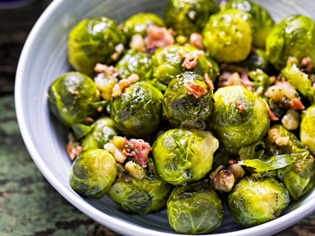 This image has an empty alt attribute; its file name is brussels-bacon.jpg