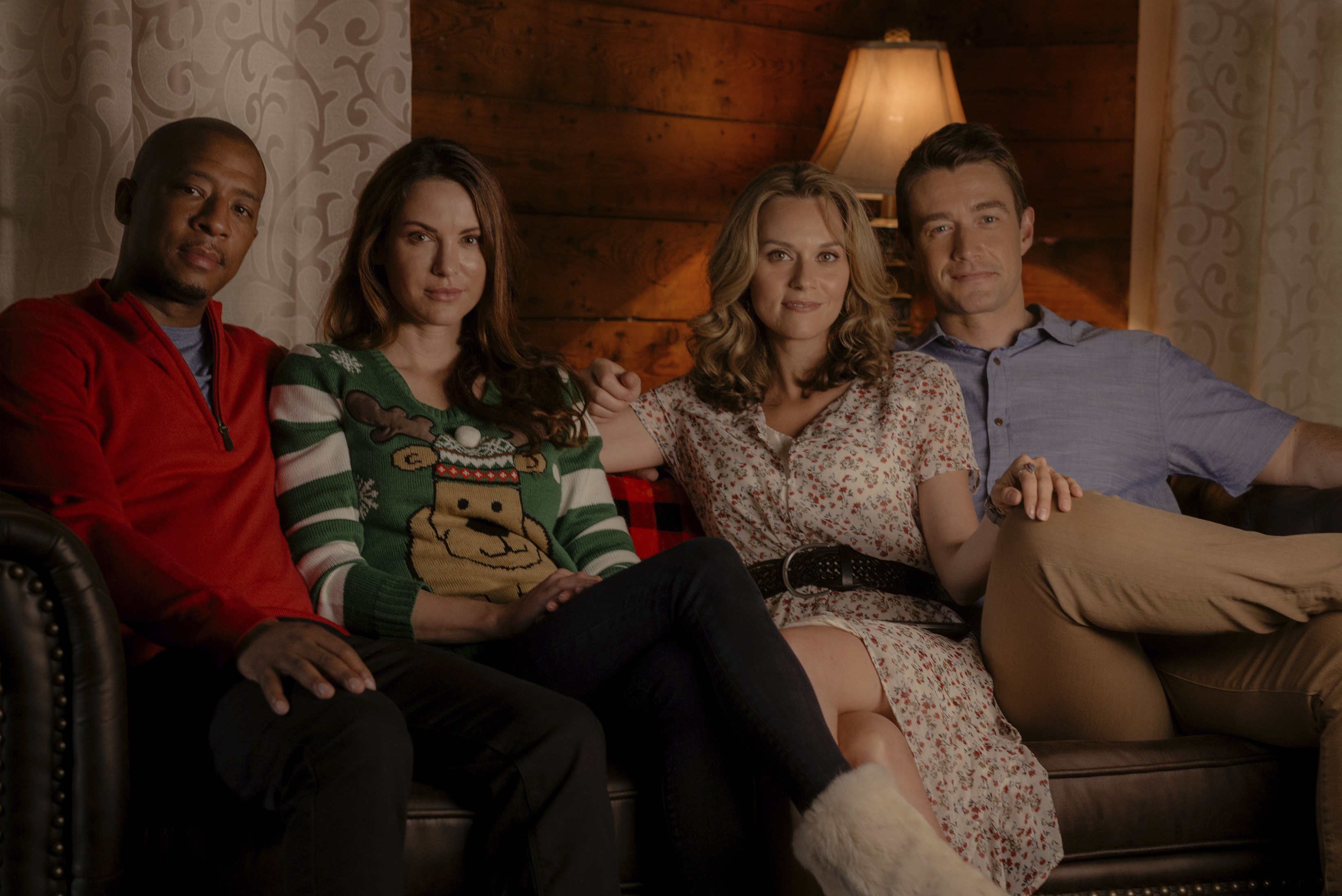 Cast of 'The Christmas Contract'
