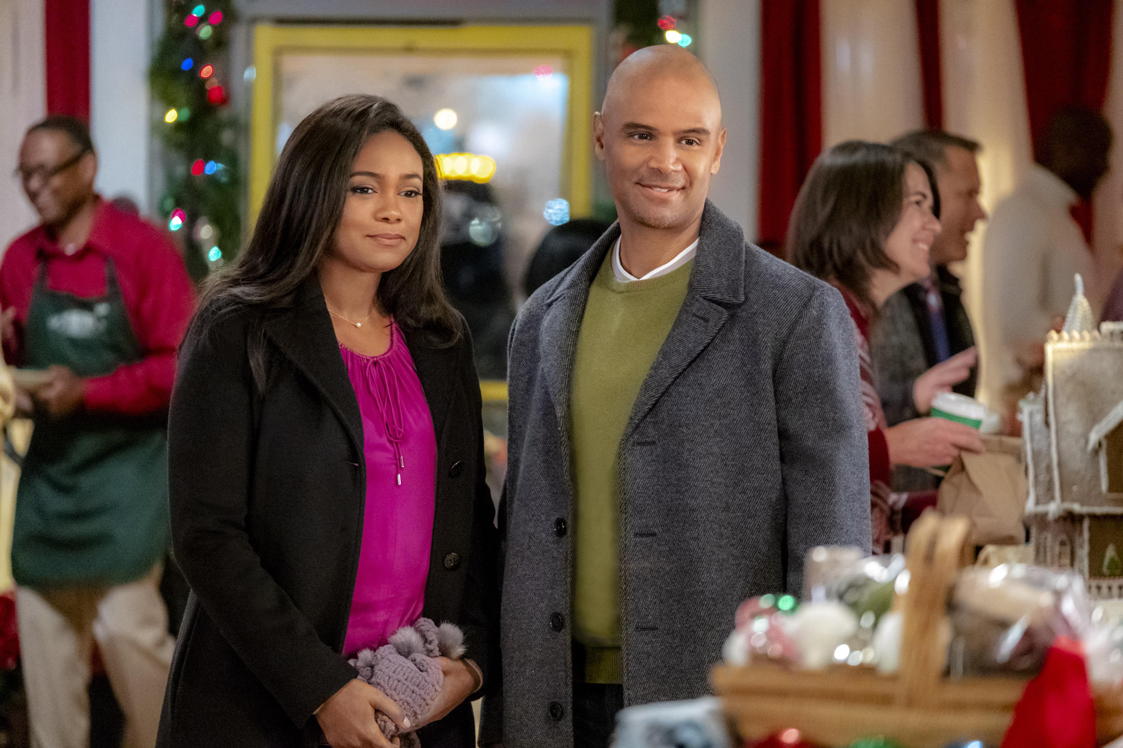 Cast of 'Christmas Everlasting'