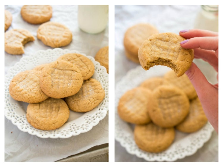 how to make chewy peanut butter cookies