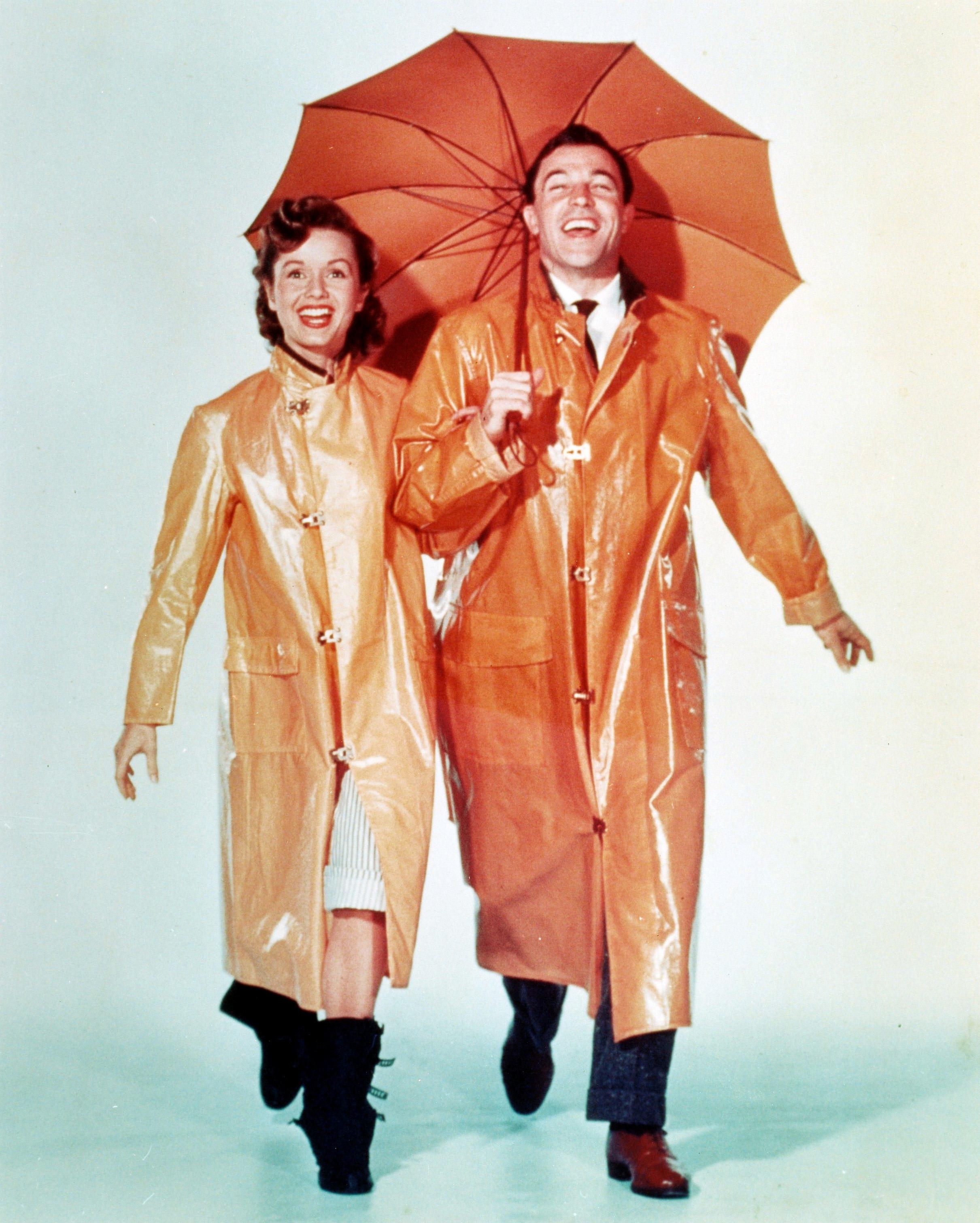 Debbie Reynolds in Singing in the Rain.