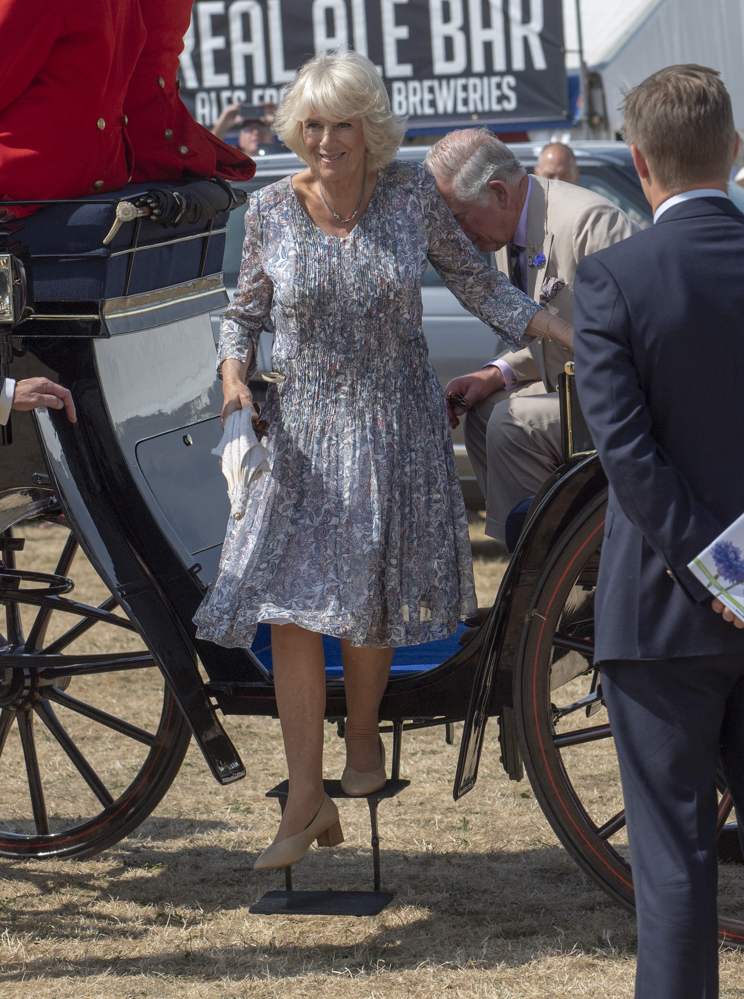 duchess camilla nude heels getty