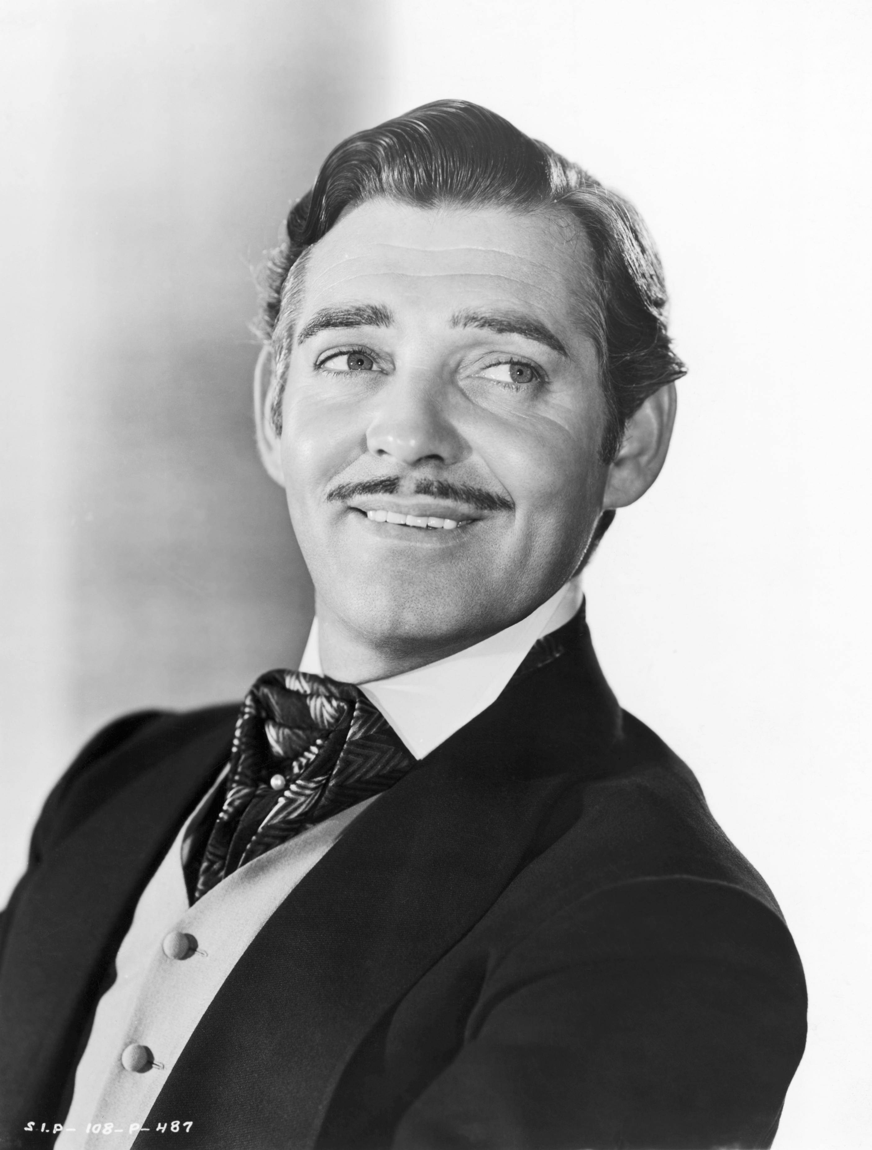 Clark Gable as Rhett Butler in 'Gone With the Wind'