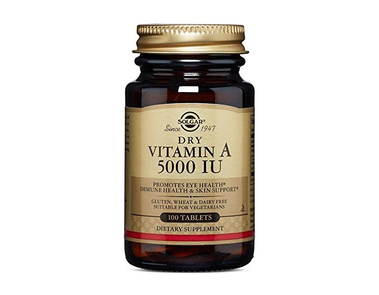 Solgar Vitamin A Vitamins to Lose Weight Womens World