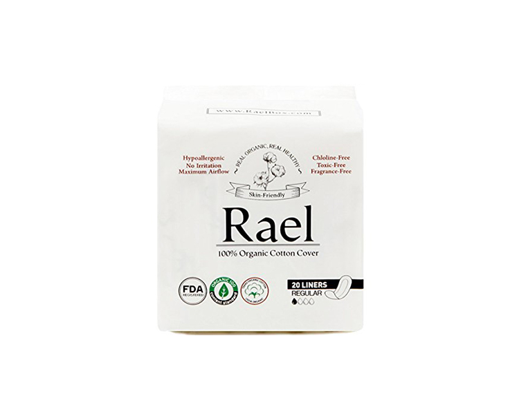 6 rael best cotton organic panty liners womans world