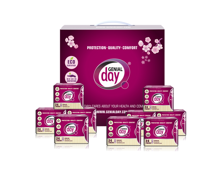 9 genial day best cotton organic panty liners womans world