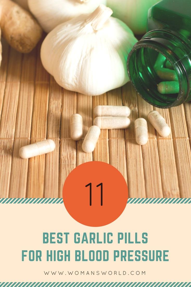 Best Garlic Pills for High Blood Pressure