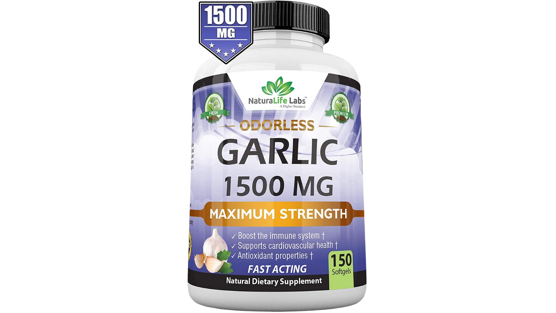 NatureLife Labs best garlic pills for high blood pressure
