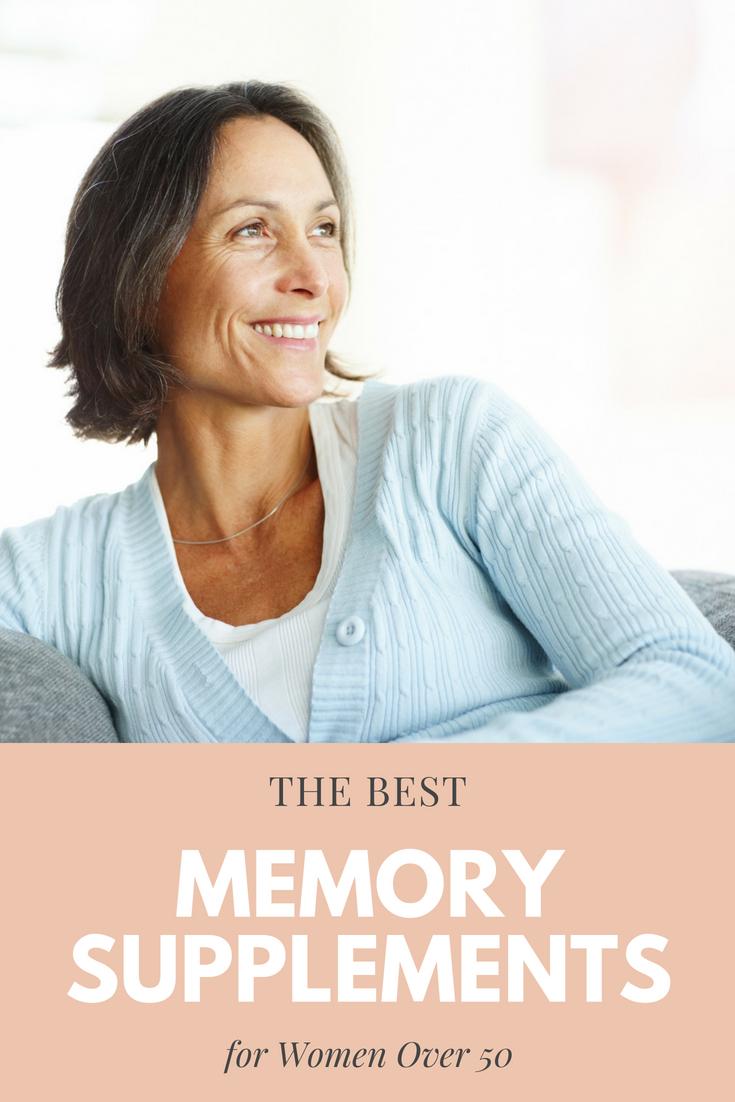 Best Memory Supplements for Women Over 50
