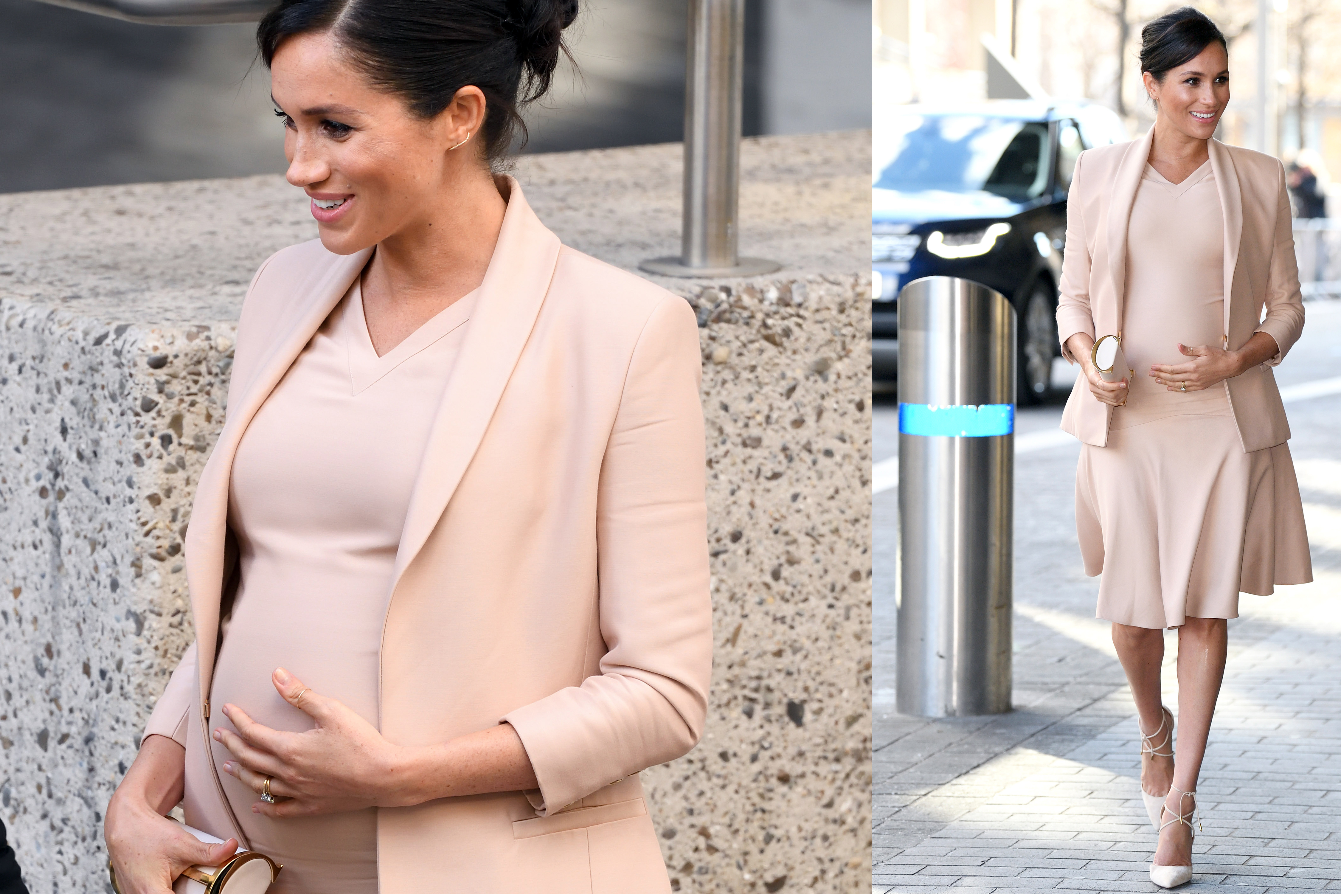 Meghan Markle at London's National Theater