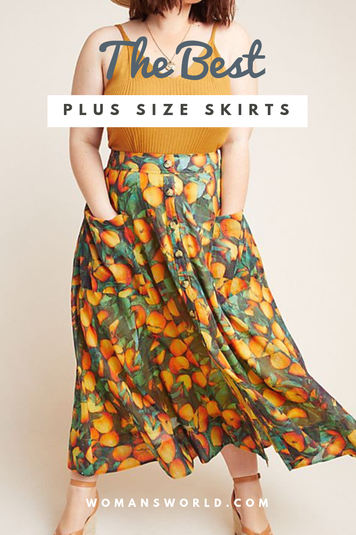 plus size skirts pinterest