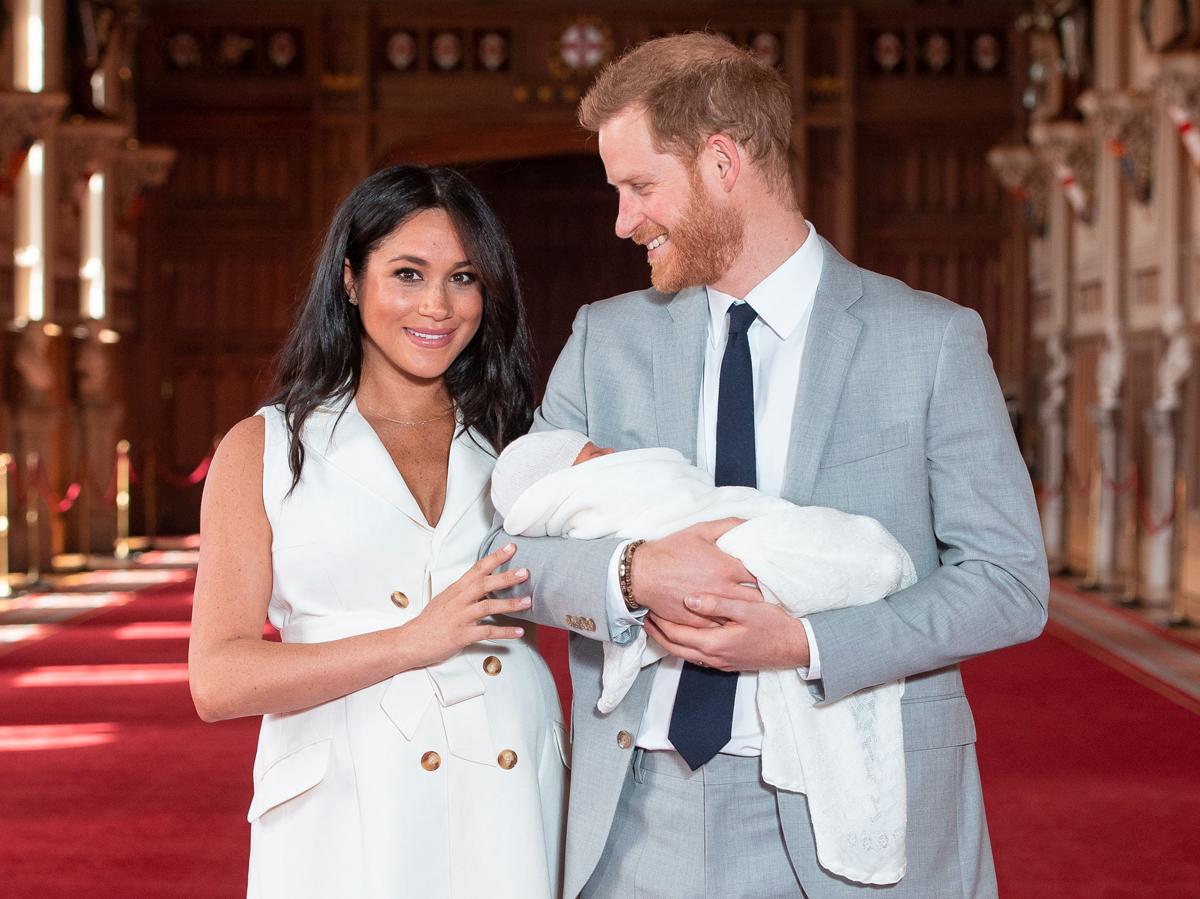 meghan markle baby photos