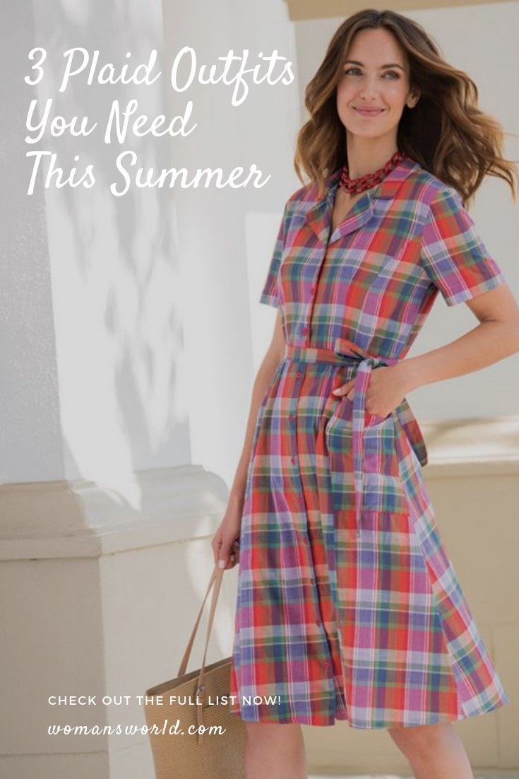 Best Plaid Clothing for Summer