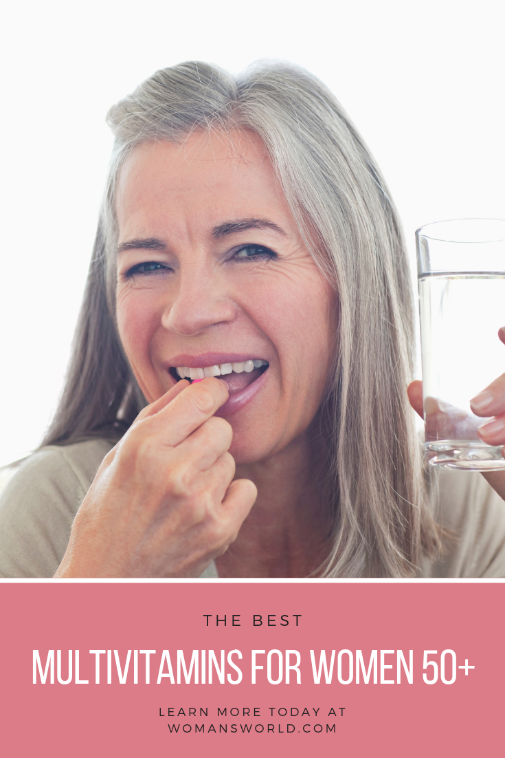Best Multivitamins for Women Over 50