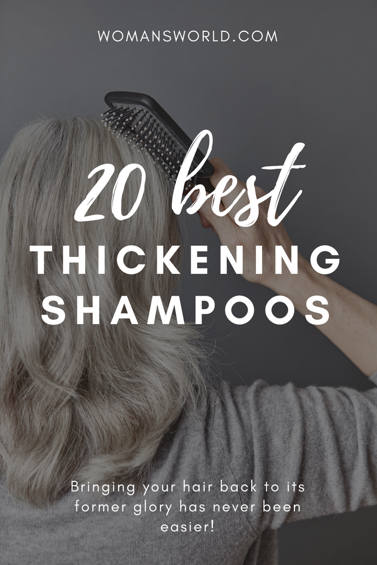 Best Shampoo for Thickening Hair