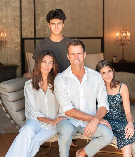 Cameron Mathison family